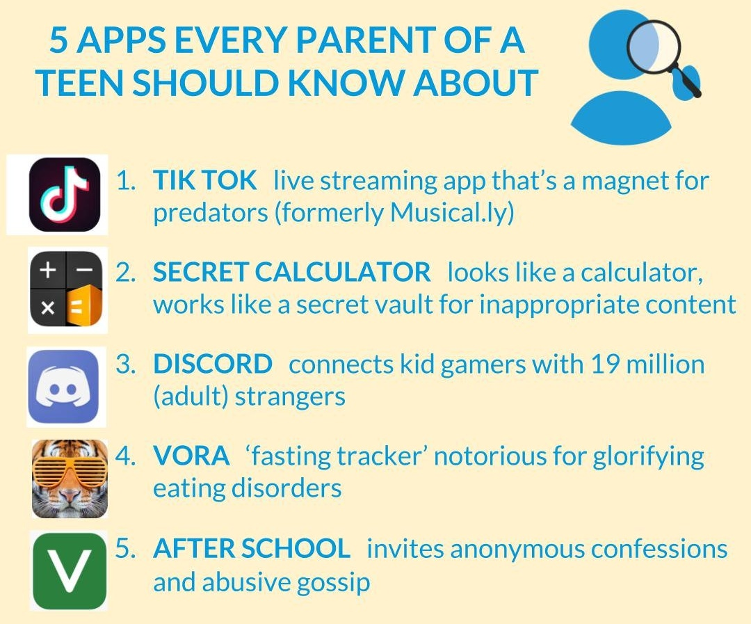 If you're the parent of a teen, here are the 5 apps you need to know
