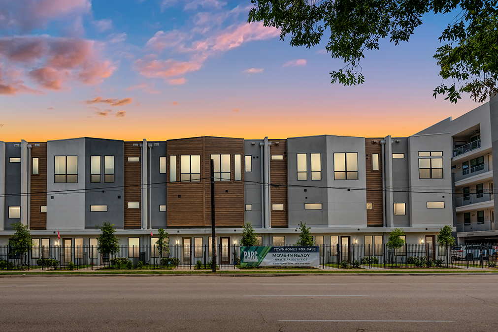 2401 Crawford St Midtown Houston Townhomes Surge Homes