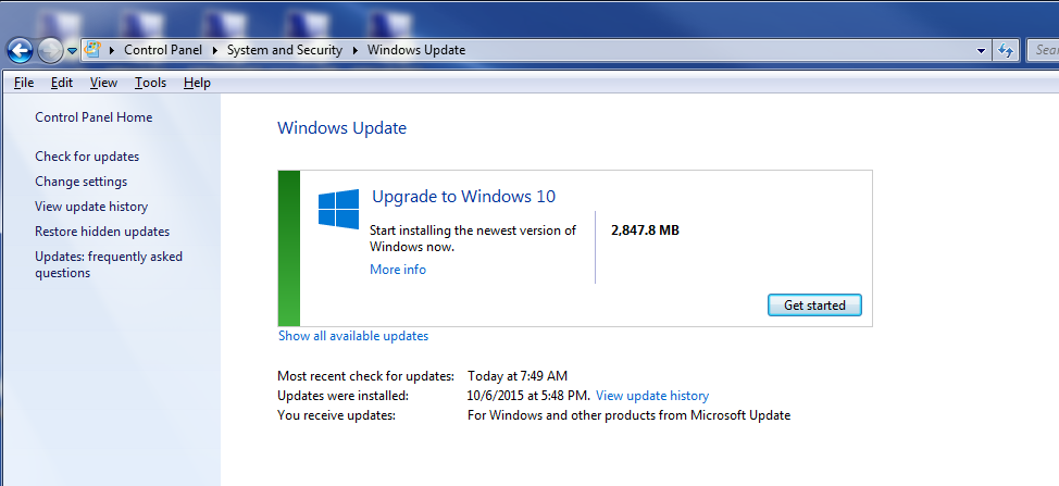 not ready to upgrade to windows 10 how to turn off the upgrade prompt