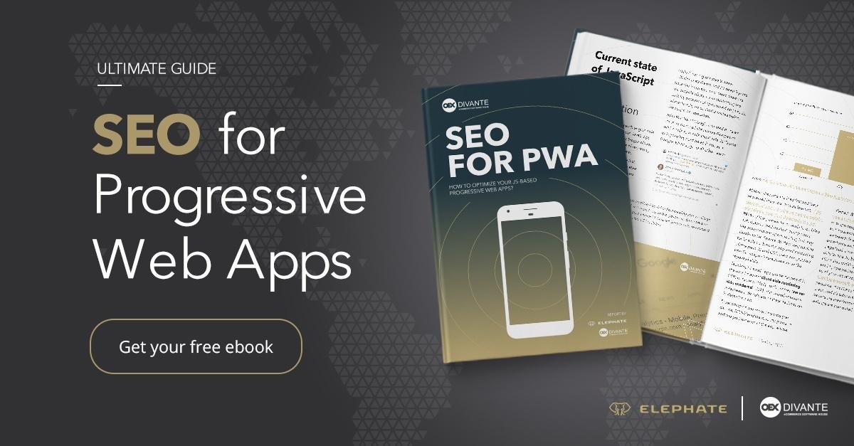 Vue js, PWA app for Magento2