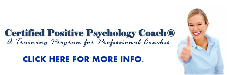 Certified Positive Psychology Coach