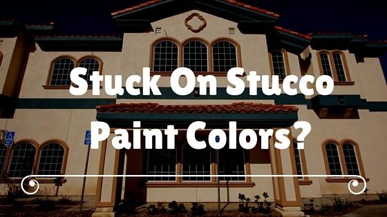 stucco paint colors - Stucco Exterior Paint Color Schemes