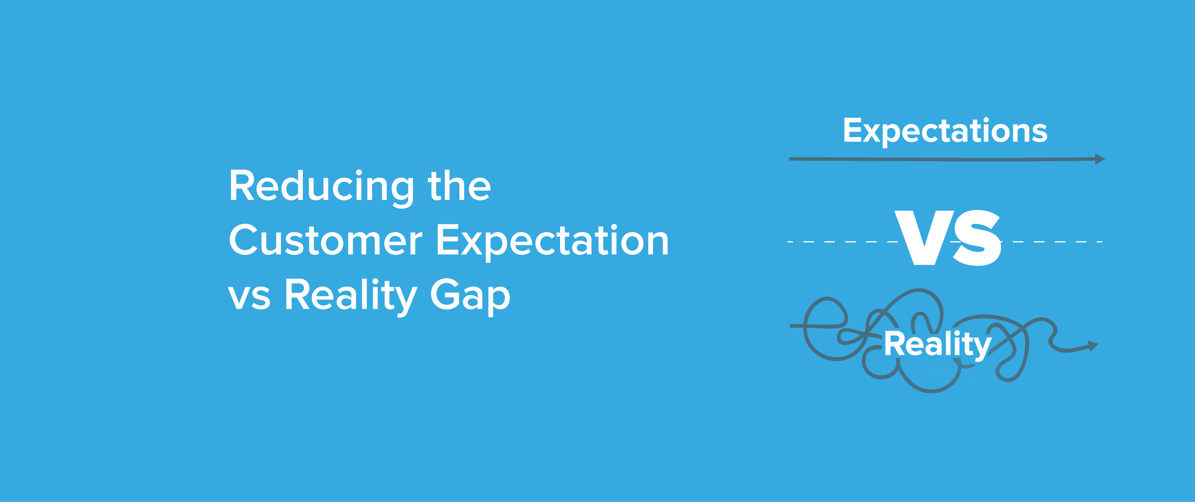 Reducing the Customer Expectation vs Reality Gap