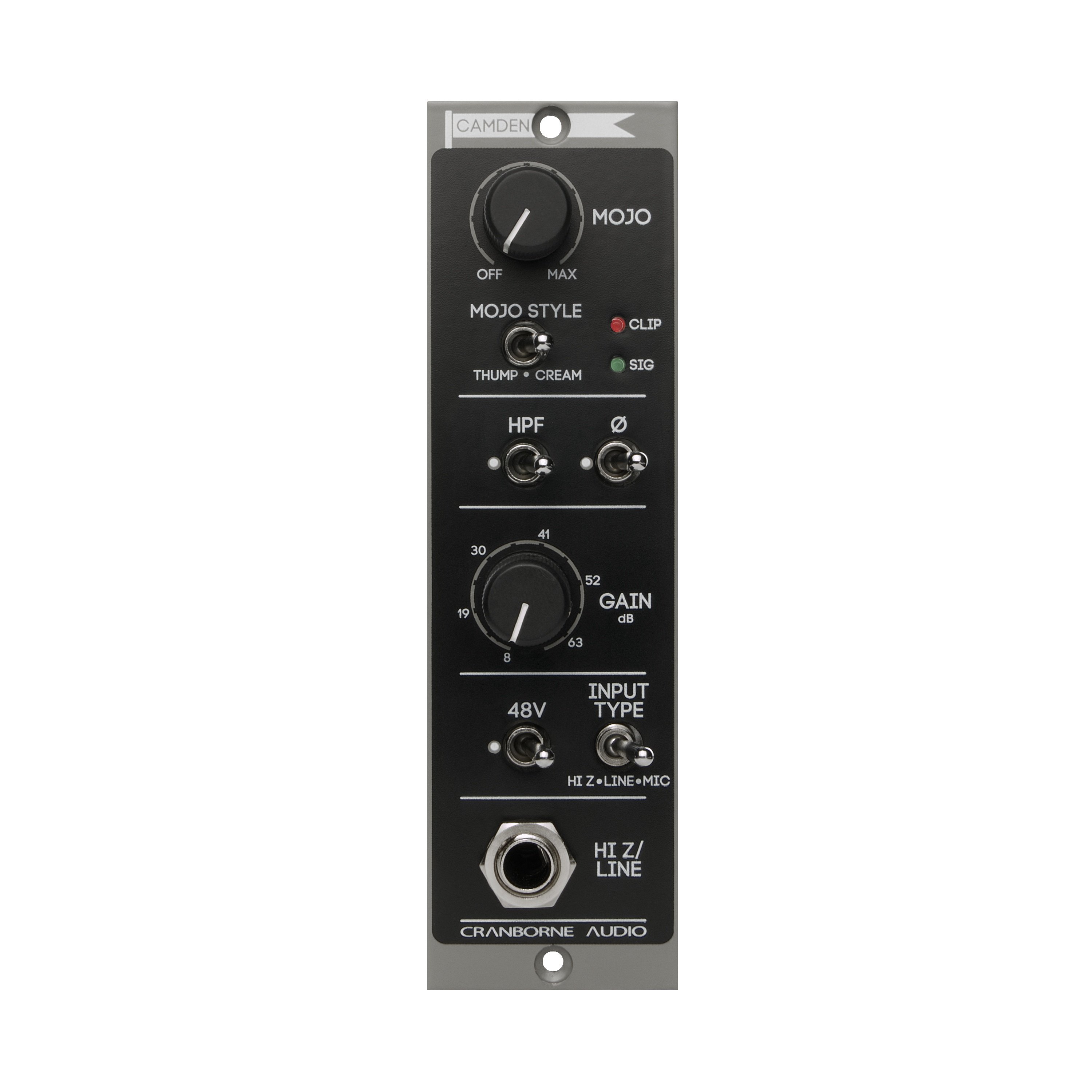Cranborne Audio Camden 500 Series Preamp And Signal Processor We Have More Circuits Measurement That You May Like Most Astoundingly Clean Linear Transparent Youve Ever Heard But It Also Has Mojo 2 Discrete Custom Analogue Saturation Can