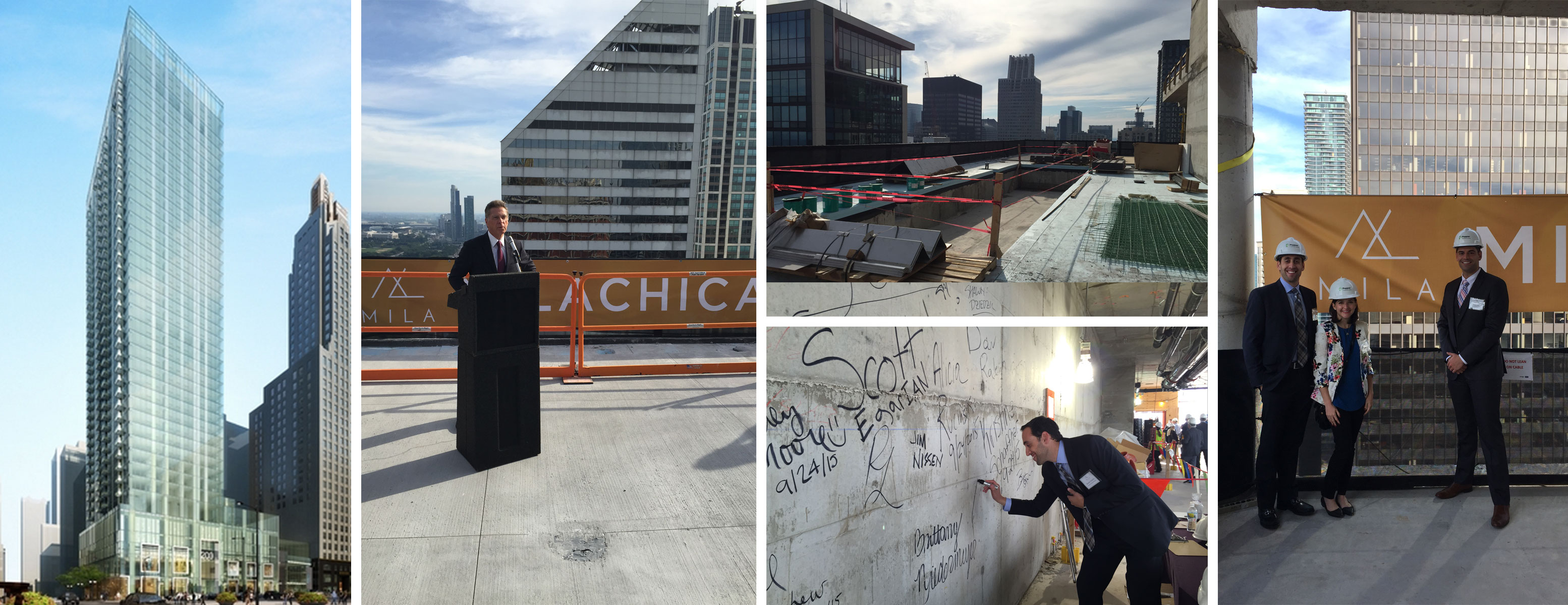 MILA Luxury Apartments Topping Off Party