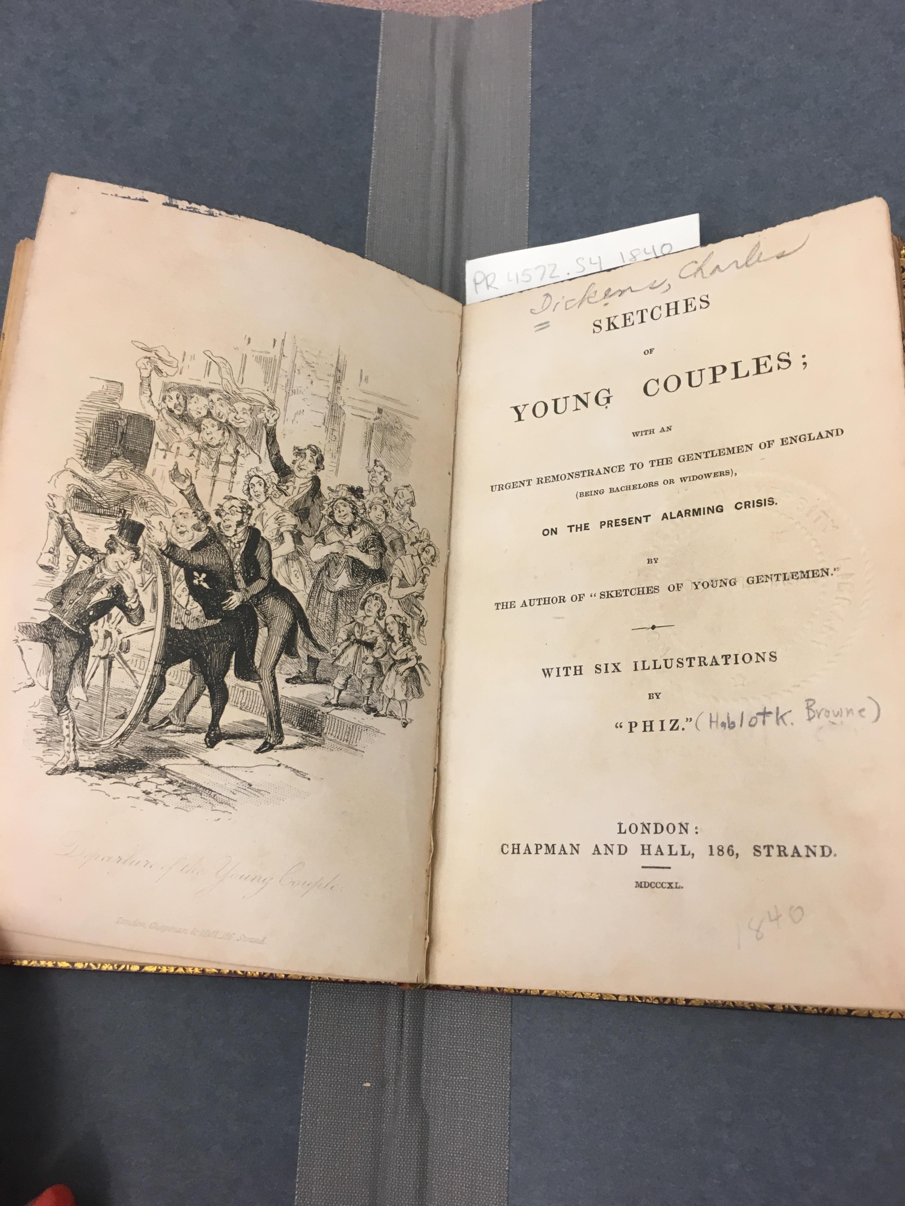 Dickens title page