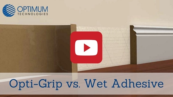 Opti Grip Dry Adhesive Vs Wet Adhesive Tape For