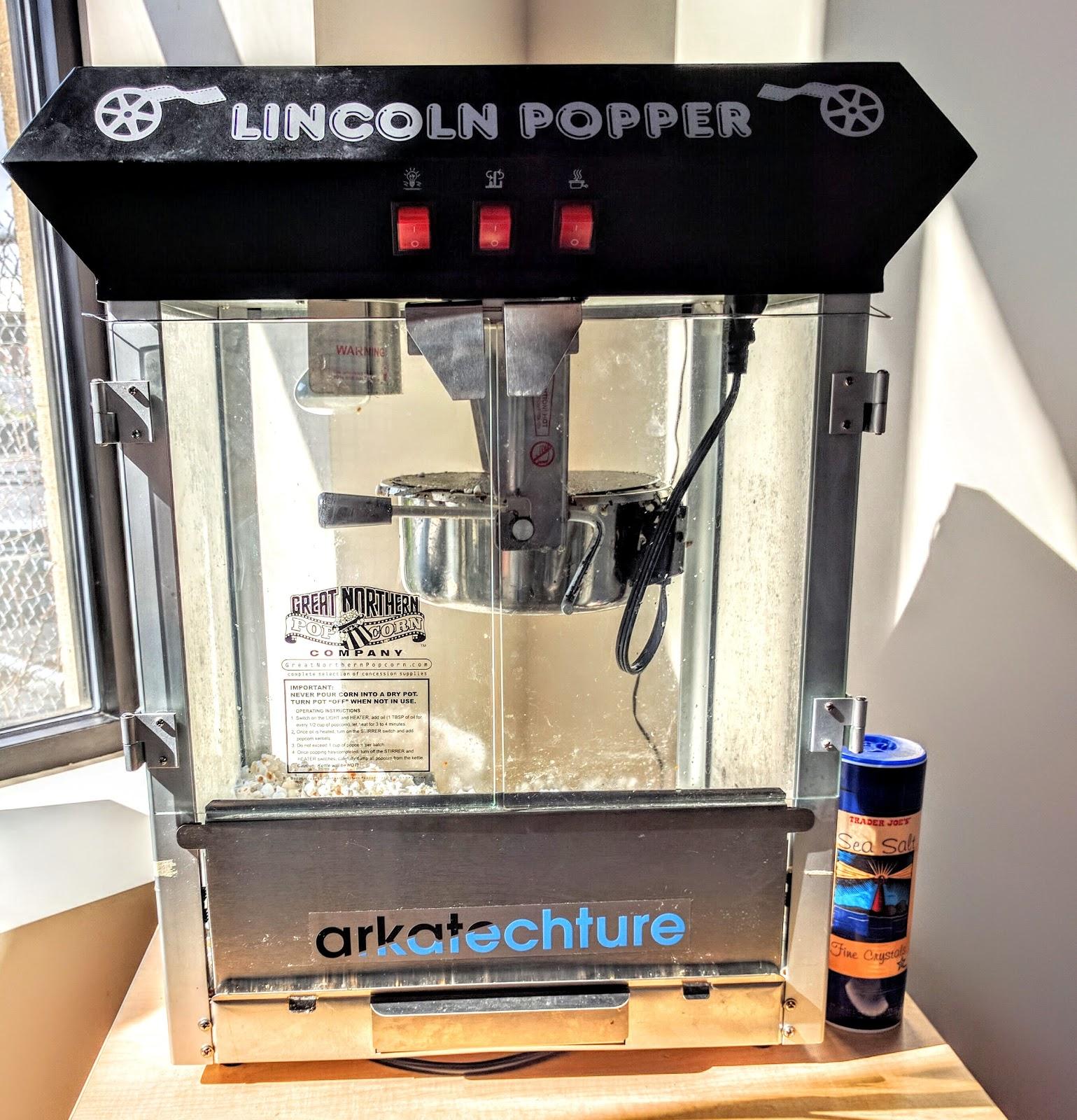 office popcorn machine