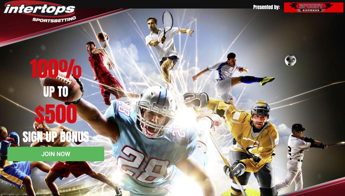 Intertops Sportsbook Promo Code [100% Bonus]