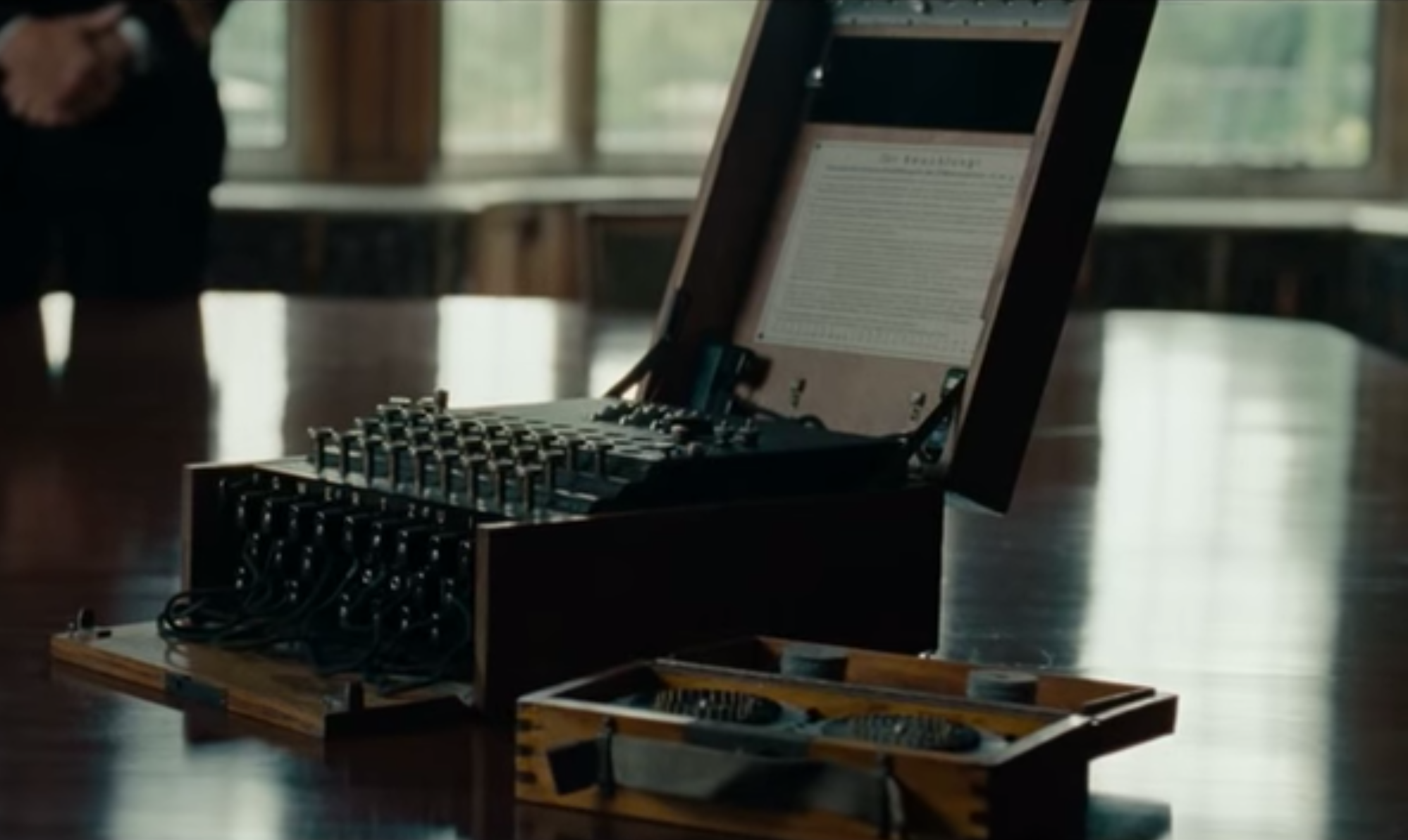 Understanding The Enigma Machine With 30 Lines Of Ruby Star Wiring Diagram Shot In Imitation Game 2014
