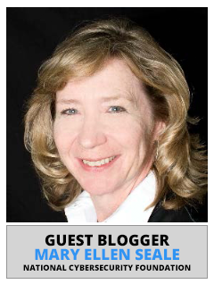 Mary Ellen Seale, National Cybersecurity Society | Guest Blogger
