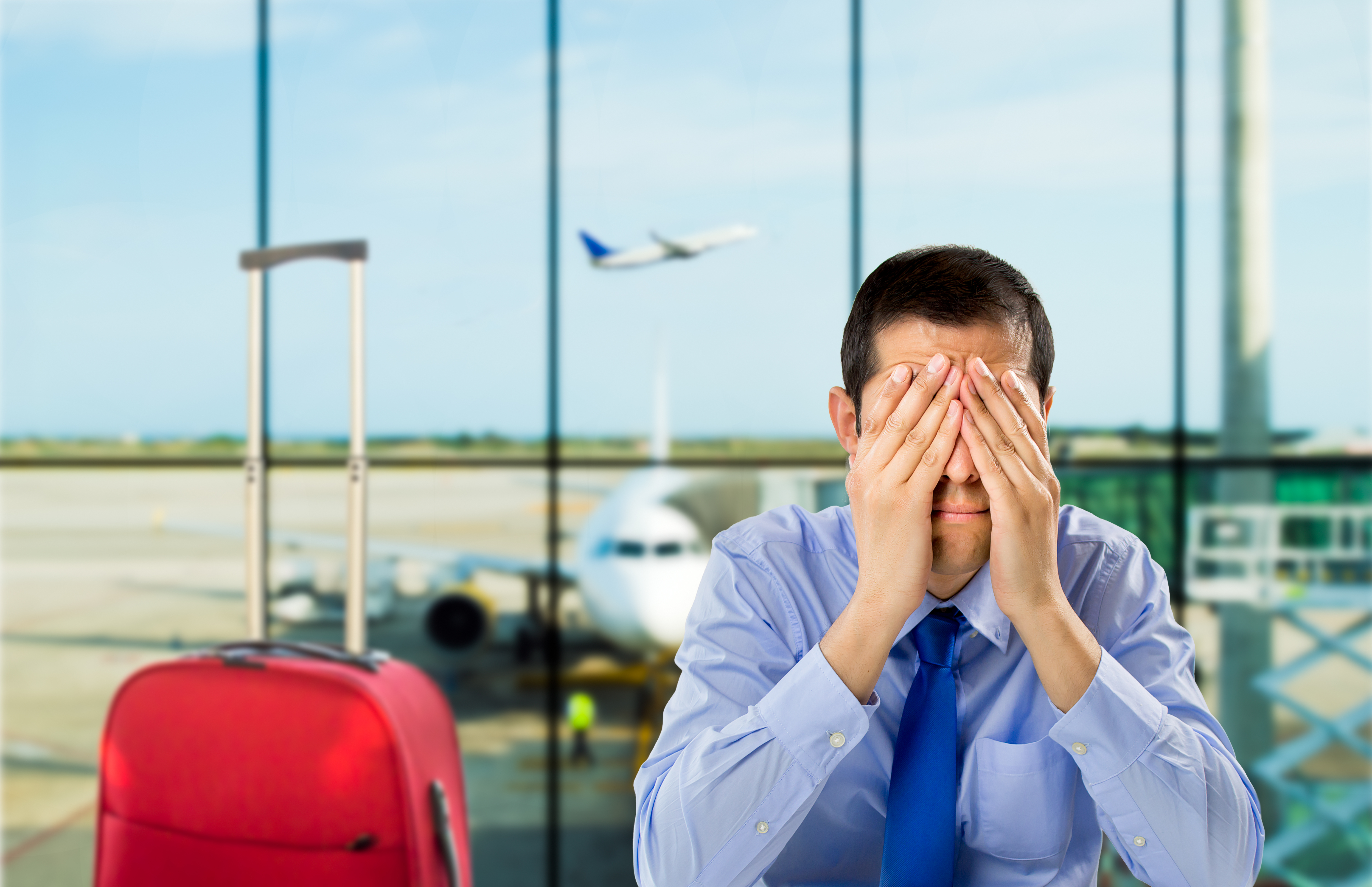 How to Handle Travel Stress: Tips from a Non-Motivational Speaker