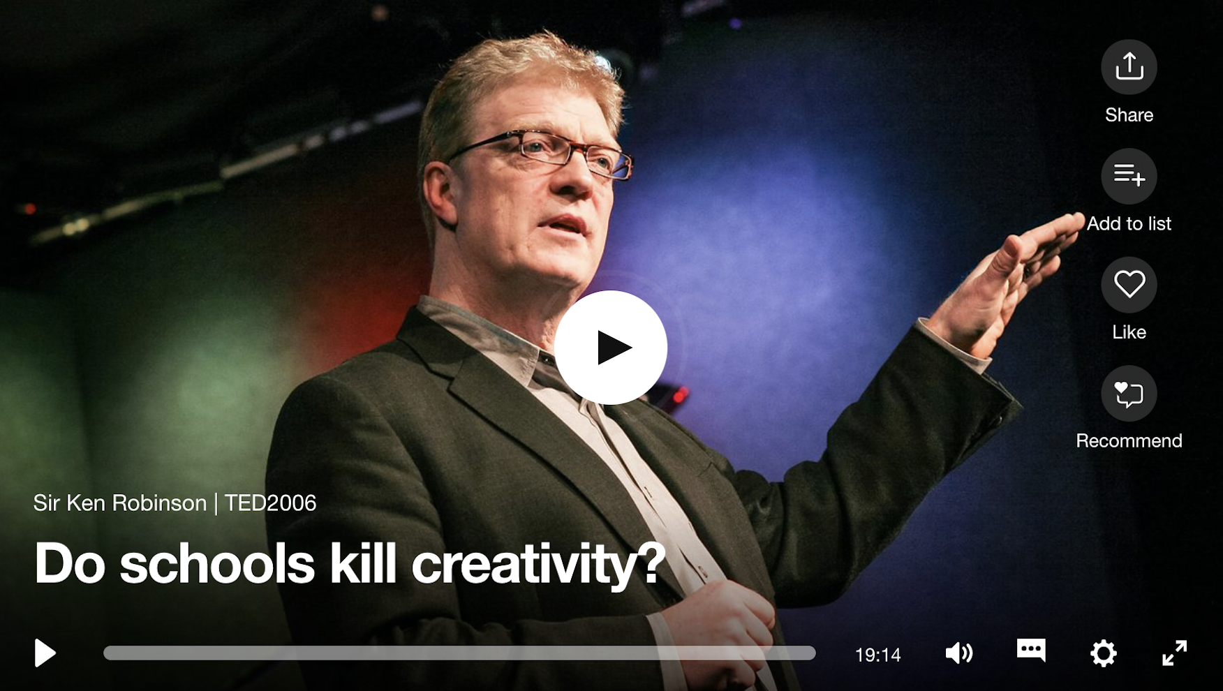 Top 5 TED Talks of All Time