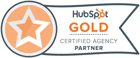 HubSpot Gold Tier Partner Badge
