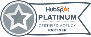 HubSpot Platinum Tier Partner Badge