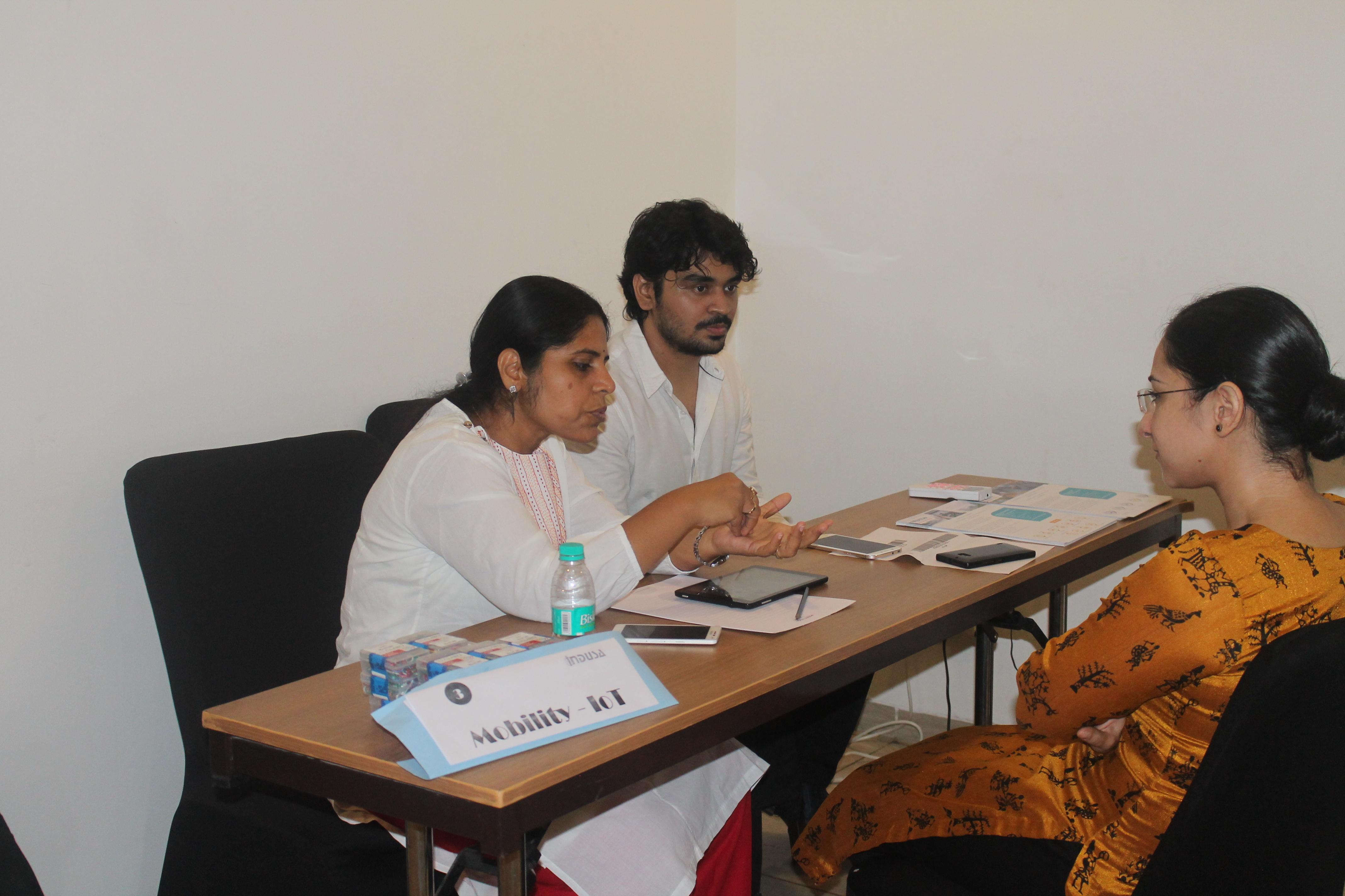 Indusa Dine-n-Learn Event