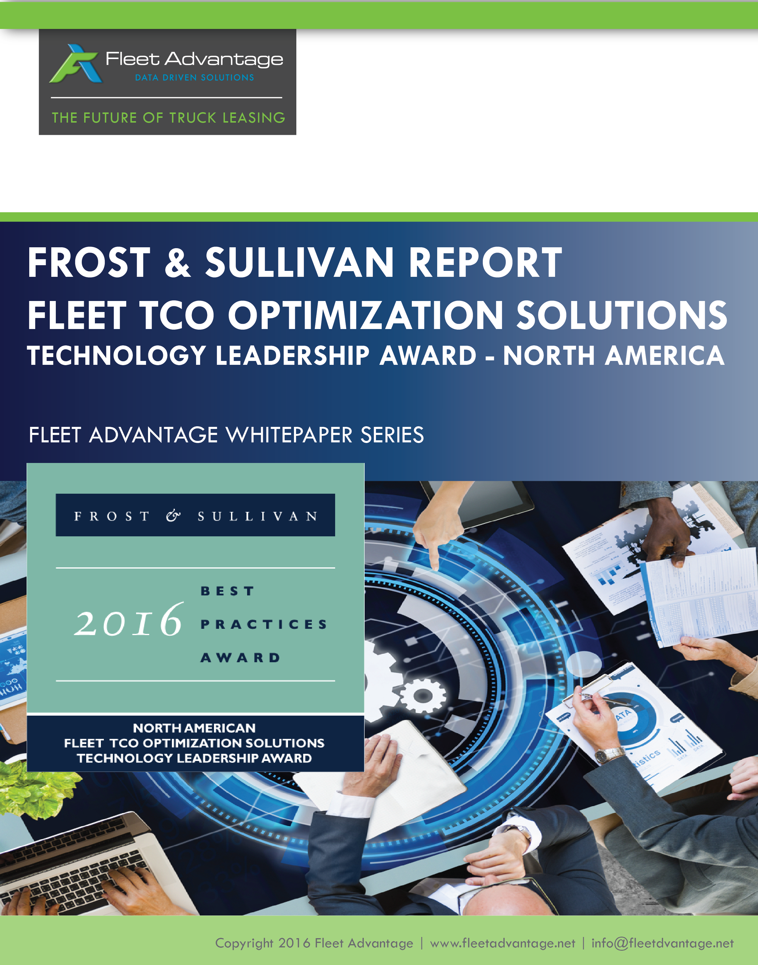 Frost & Sullivan TCO Leadership Award