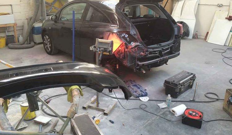 england auto body shop