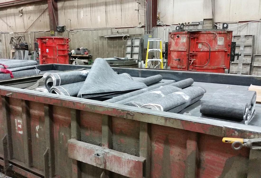 Concrete Holding Tank Sealing | XR QuikLiner