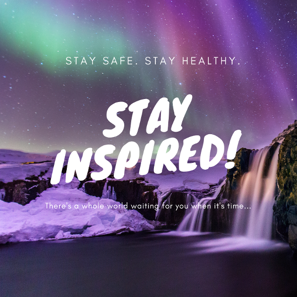 Stay safe, stay healthy and stay inspired! When the world gets back to normal, CruiseInsider will be here to help you see it all in style!