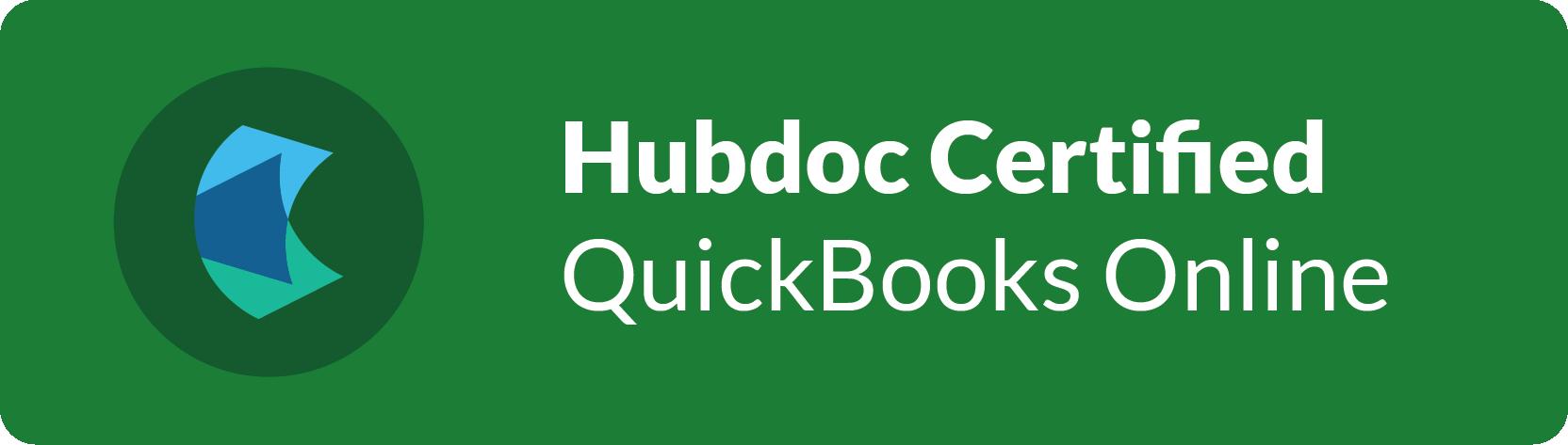 Hubdoc Certified QBO ProdAdvisor
