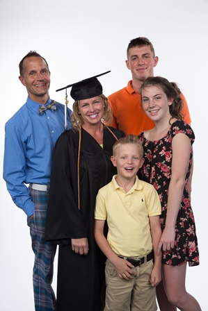 Heather and her Family
