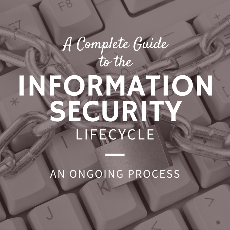 A Complete Guide to the Information Security Lifecycle