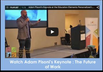 Watch the Adam Pisoni's Keynote : The future of Work