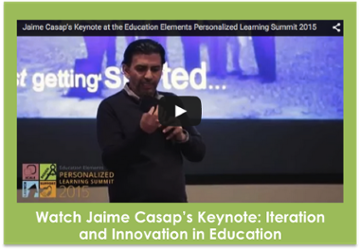Watch the Jaime Casap's Keynote: Iteration and Innovation in Education