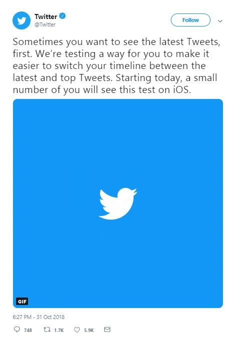 Viral Nation | Twitter Has Been Testing A New Feature For