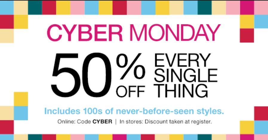 gap cyber monday online coupon code