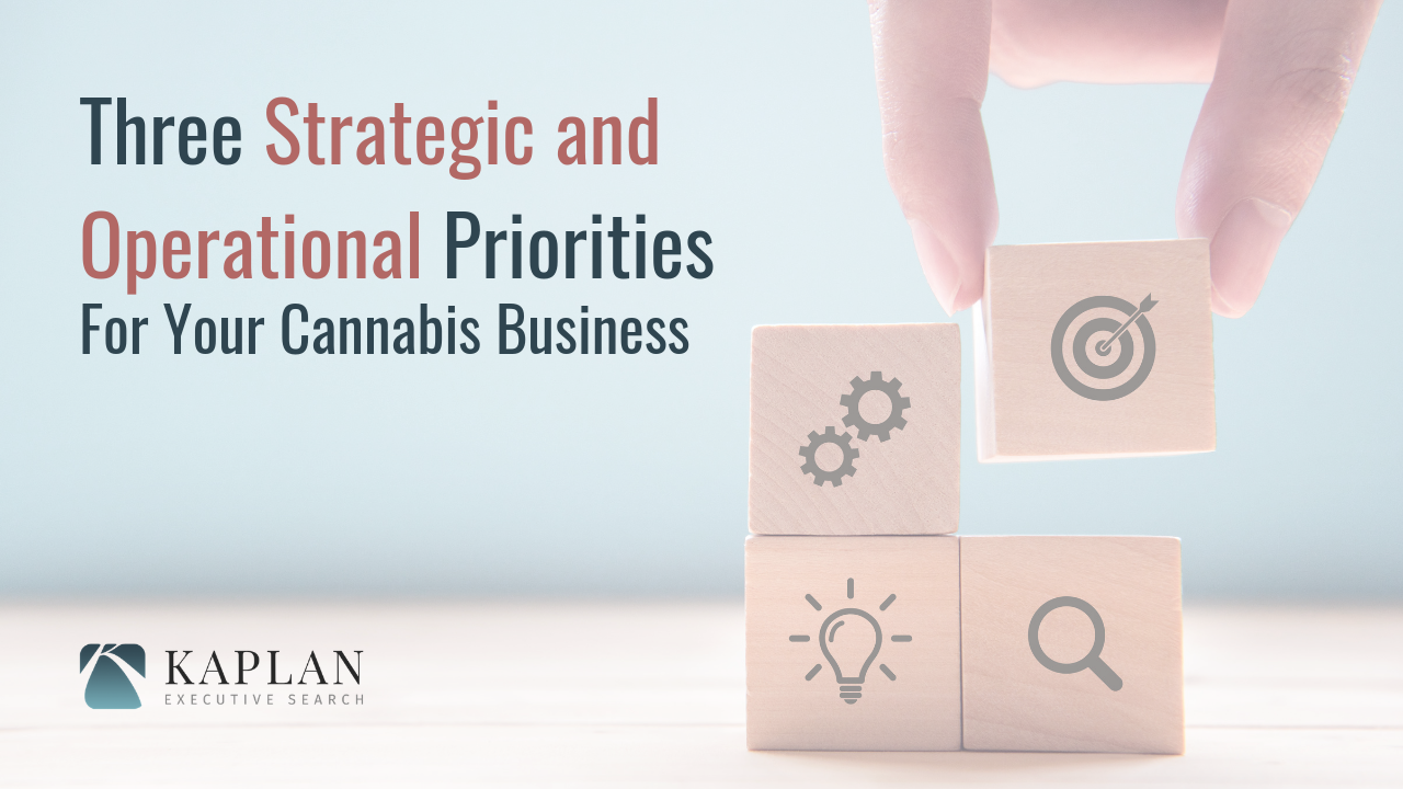 Three Strategic and Operational Priorities