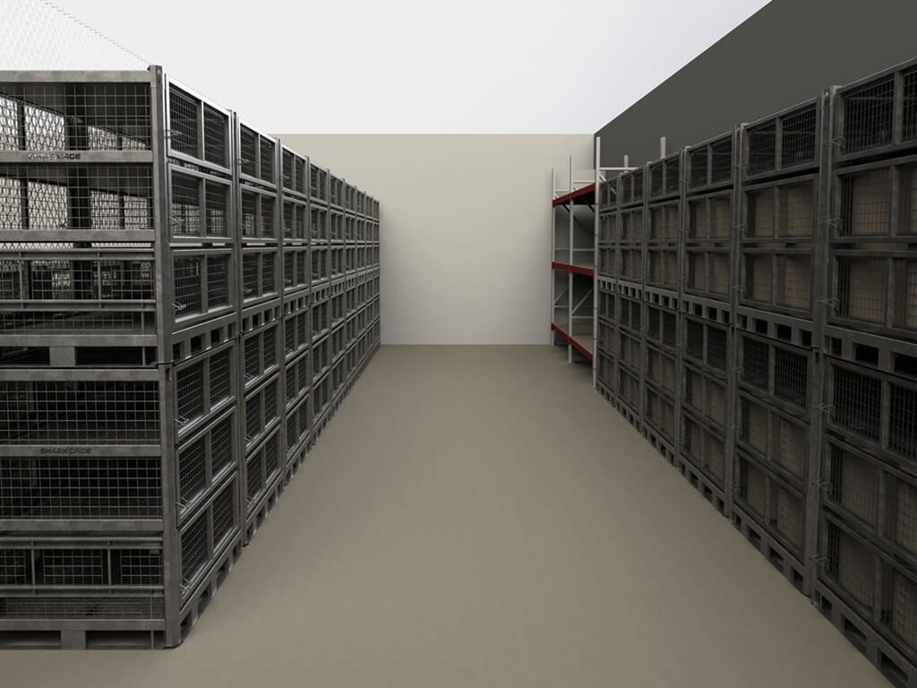 SharkCage Military Storage Containers Improve Group