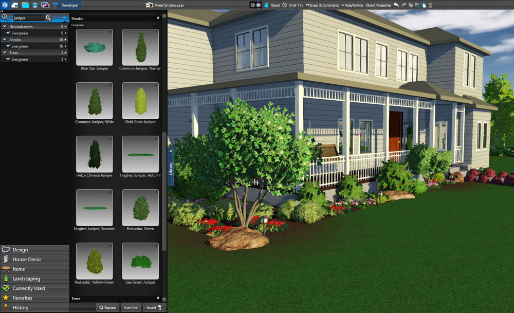 3d pool and landscaping design software features vip3d 3d object design software