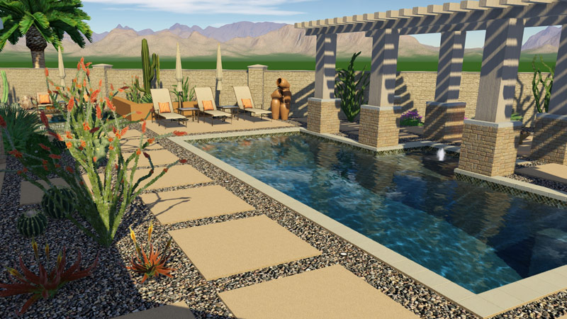 3d pool and landscaping design software features vip3d for Swimming pool design xls