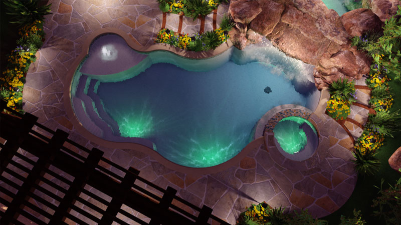 Pool Studio The Best 3d Swimming Pool Design Software