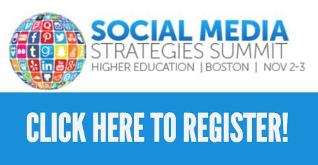 Social Media Strategies Summit for Higher Education Registration