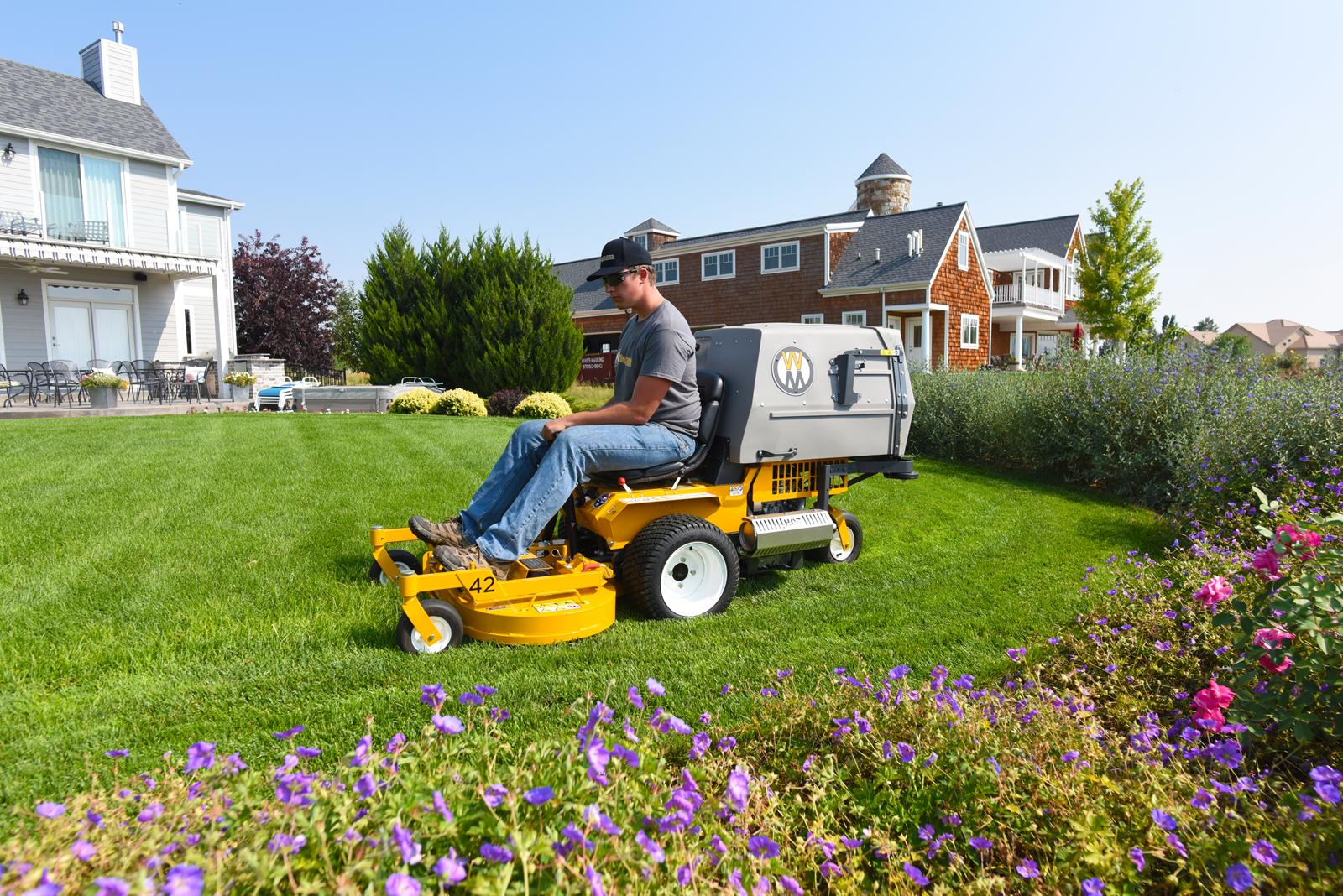 The Walker Model C19 Commercial Lawn Mower