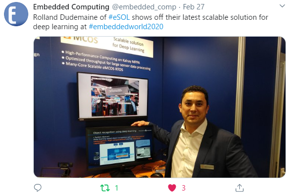 Embedded Computing Design interviewed VP Engineering at eSOL Europe