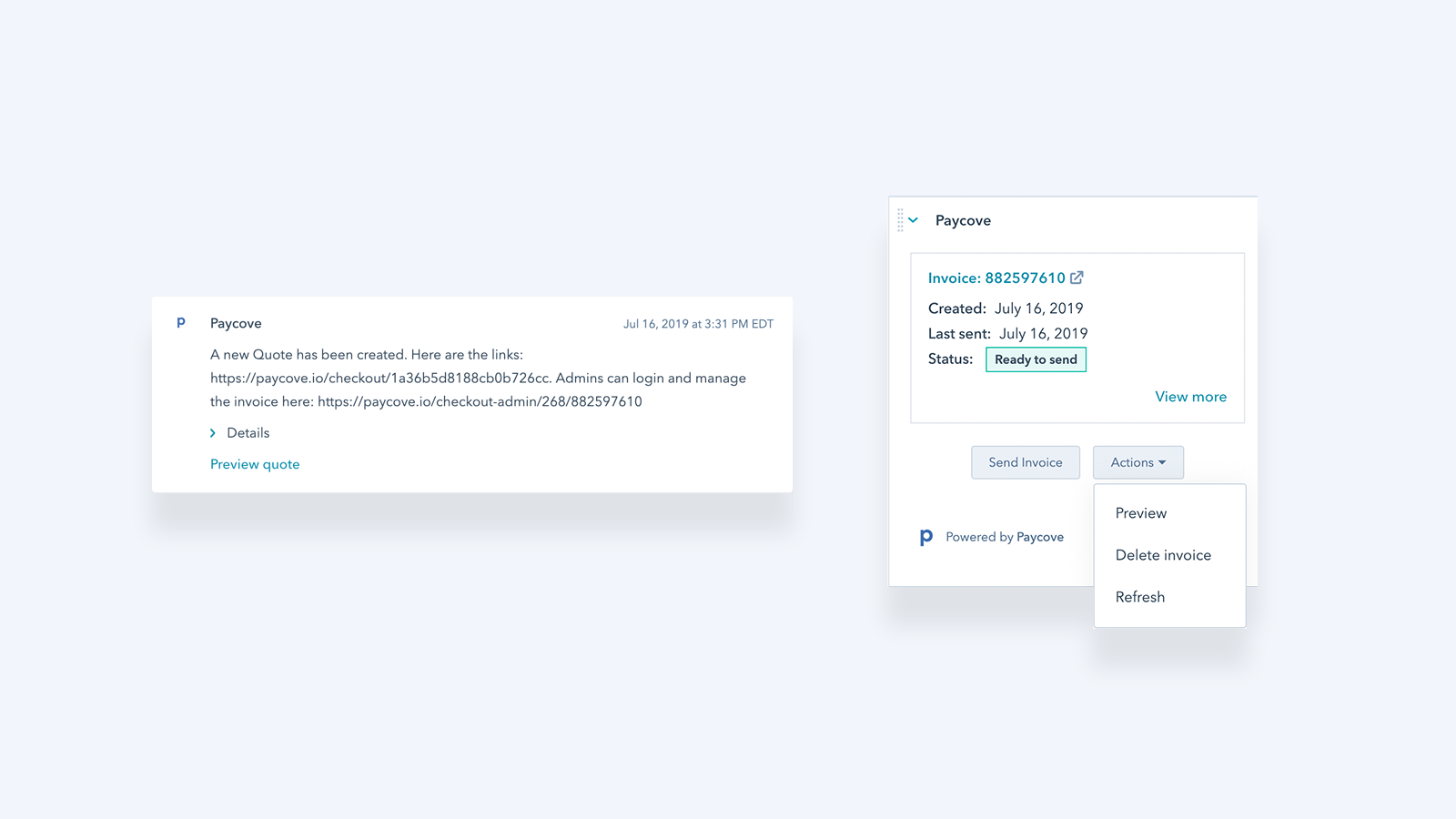 Paycove | HubSpot App Marketplace
