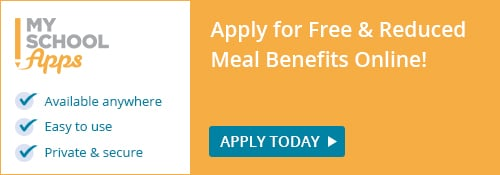 Apply for free and reduced price meal benefits with MySchoolApps