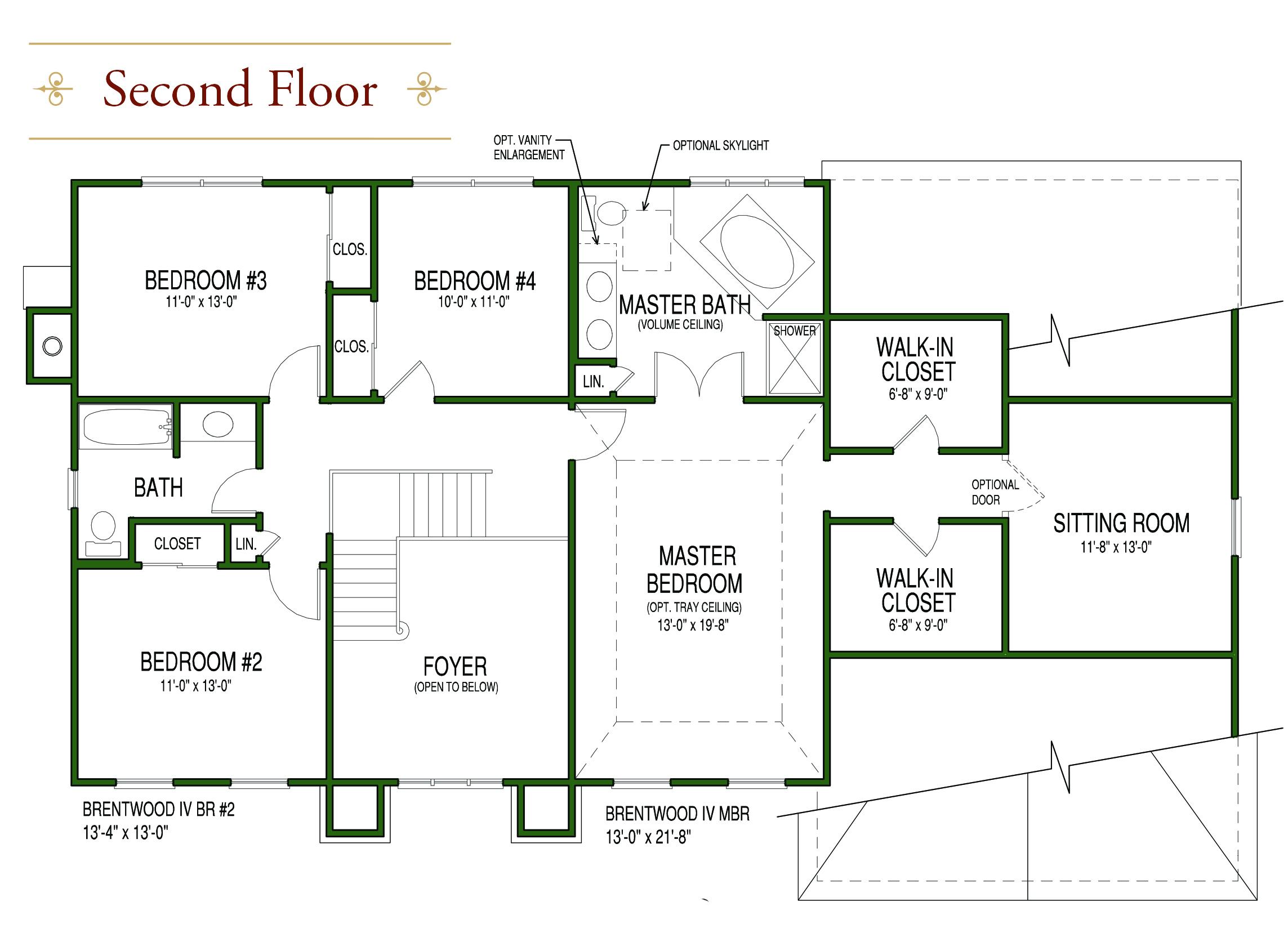 New Home Floor Plans Hillsborough NJ