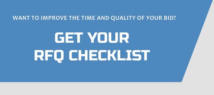 RFQ Checklist - Newsletter CTA