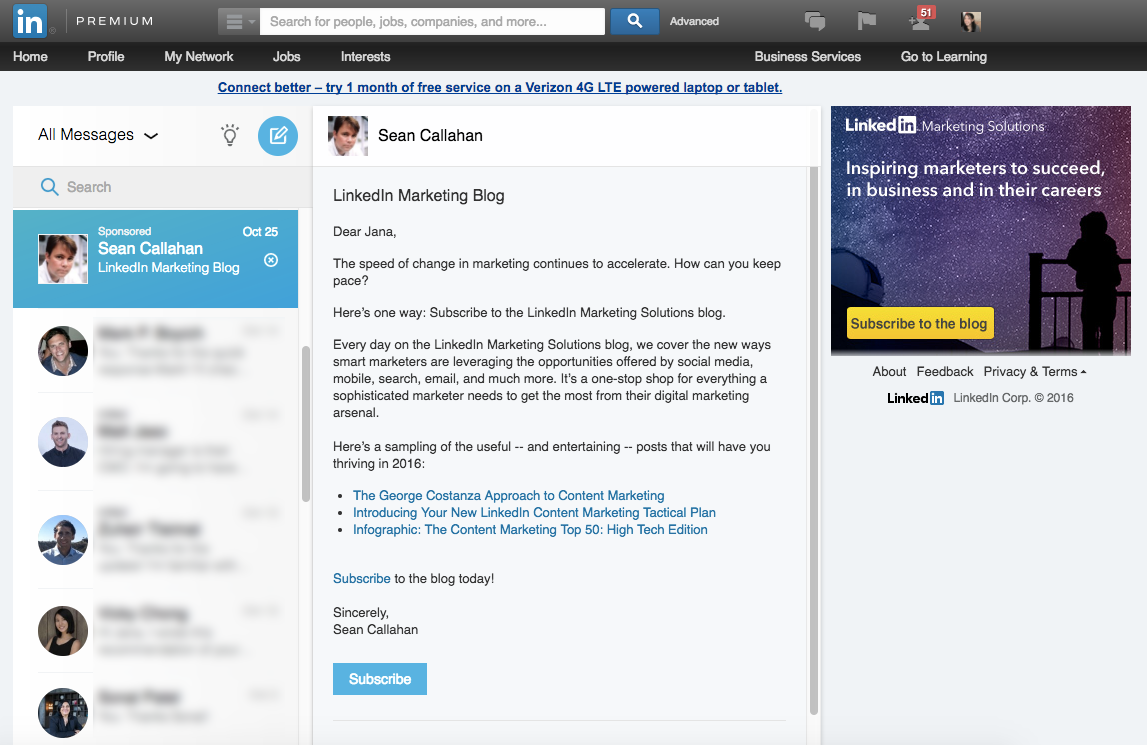 How to Align LinkedIn Sponsored InMail with Account-Based