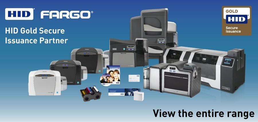 View our entire range of card printers