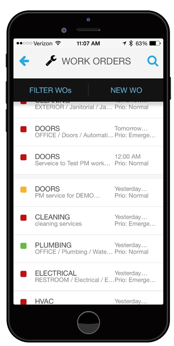 ServiceChannel Facilities Management Mobile App