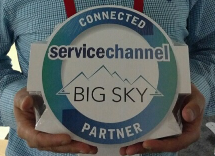 ServiceChannel Connected Partner Placard