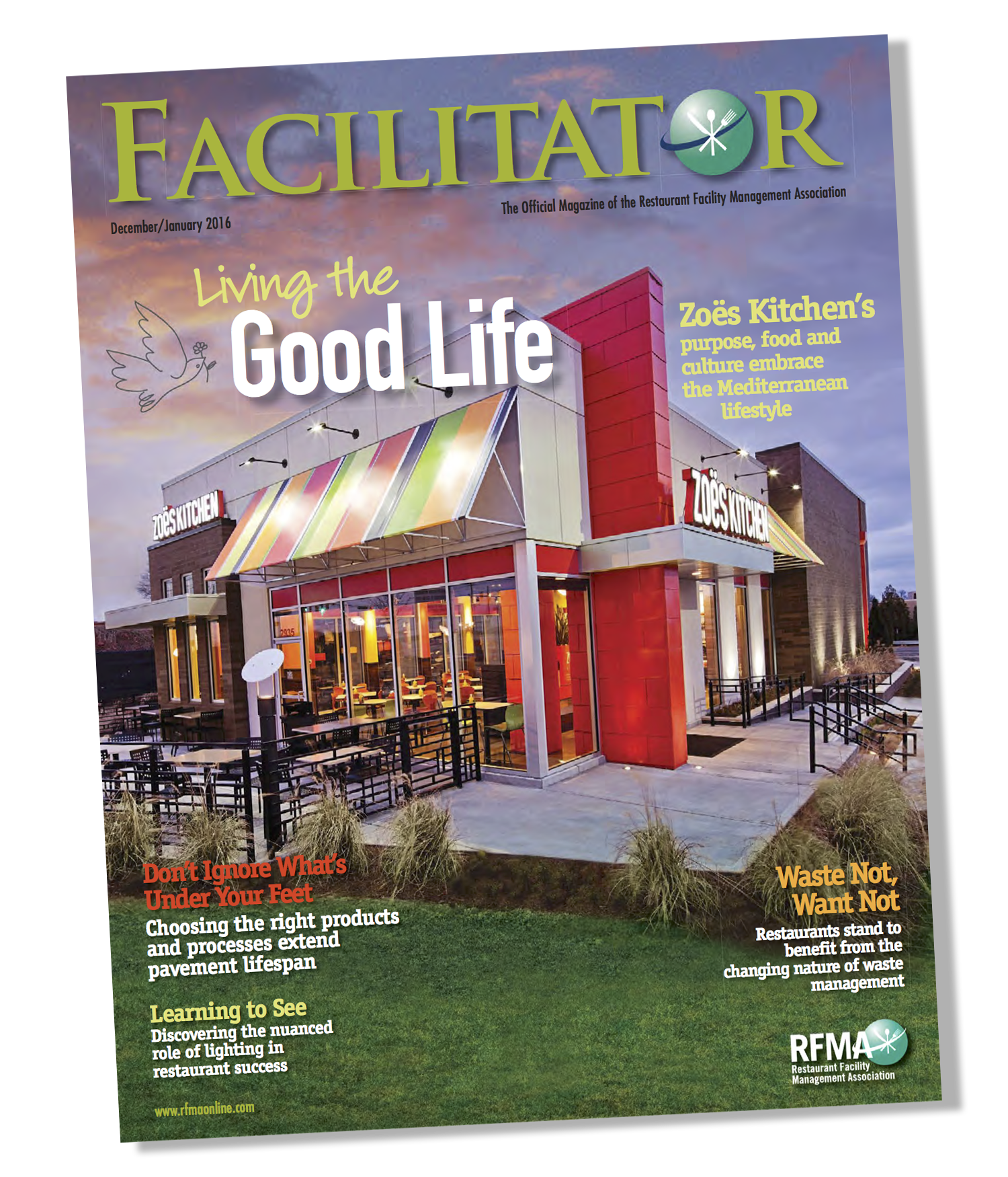 Facilitator Magazine - Jan, 2016 - Zoe's Kitchen