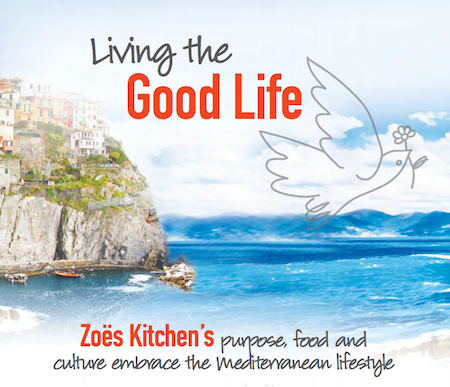 Zoe' s Kitchen - Facilitator Magazine
