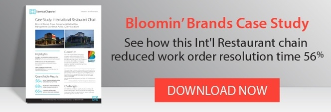 Bloomin' Brands Case Study: See how this Int'l Restaurant chain reduced work order resolution time 56%